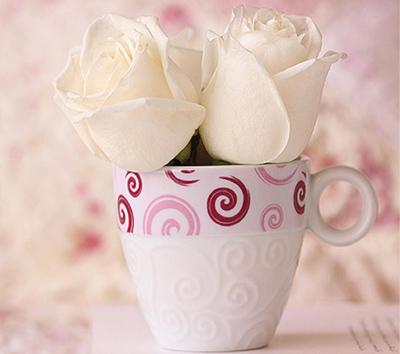 صور تصاميم كروت صباح الخير ورد قهوة جميلة ومعبرة وهادية